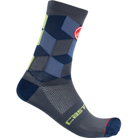 Castelli Unlimited 15 Socks dark steel blue